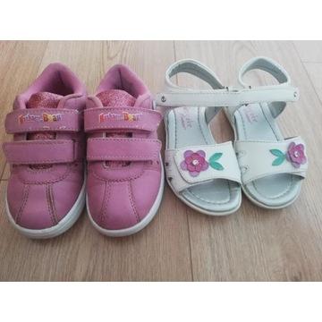 Adidaski i sandałki rozmiar 25
