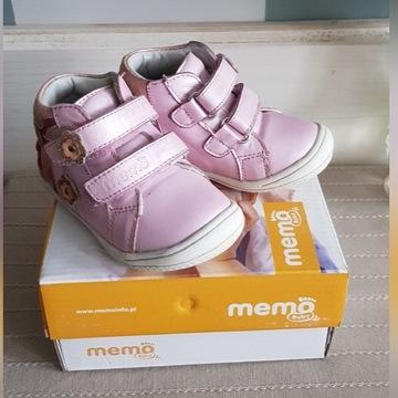 Buty Memo różowe + gratis