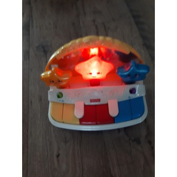 Fisher Price, zabawka interaktywna Pianinko