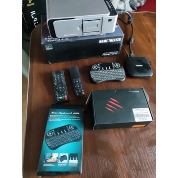 Projektor T6 pełny zestaw