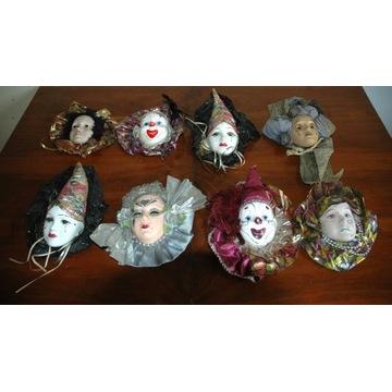 Maski Karnawałowe - Zestaw