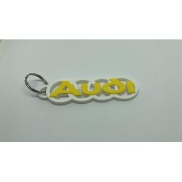 Brelok Audi breloki przywieszka logo