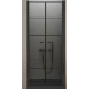 Drzwi prysznicowe NEW TRENDY SOLEO BLACK 100X195