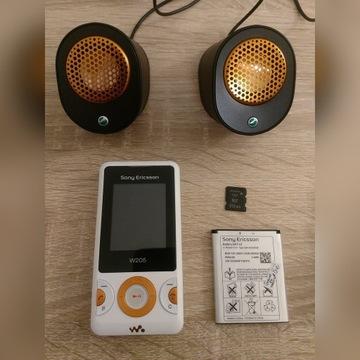 Sony Ericsson W205 NOWY - ZESTAW