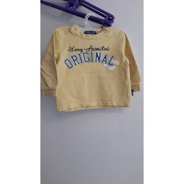 Bluzy r.68 chłopiec 3 szt