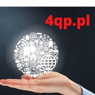 Domena internetowa idealna łatwa nazwa 4qp.pl