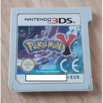 POKEMON Y Nintendo 2DS / 3DS SAM KARTRIDŻ