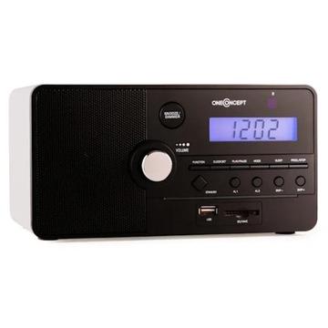 Radio Usb mp3 Radiobudzik OneConcept Luzern Budzik