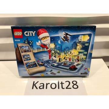 Lego City kalendarz adwentowy 60268 HIT