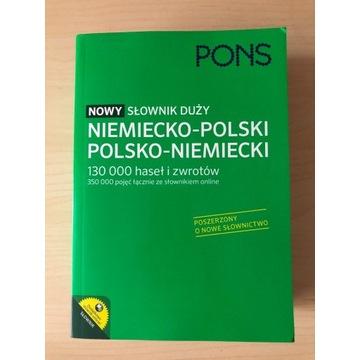 Słownik PONS niemiecki 130 000 haseł