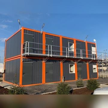 Kontener mieszkalny biurowy budowlany pakamera