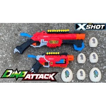Zuru X-Shot Dino Atak Attack 48 strzałek 27m! NERF