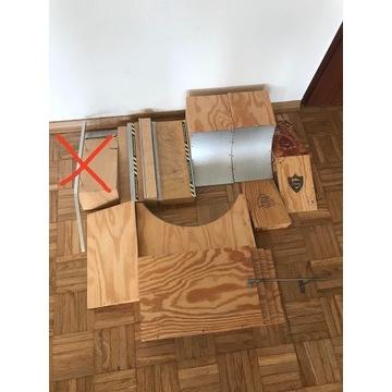Fingerboard rampy zestaw