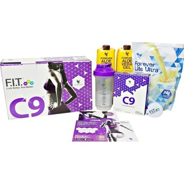 Forever Clean 9 Dieta C9 Detox,-5kg w 9 dni.