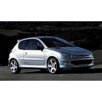 Peugeot 206 s16 2002 gti cały na części