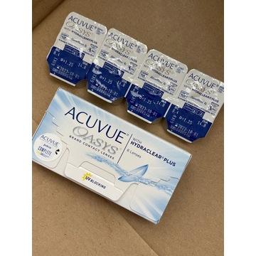 Soczewki kontaktowe Acuvue Oasys +1,25
