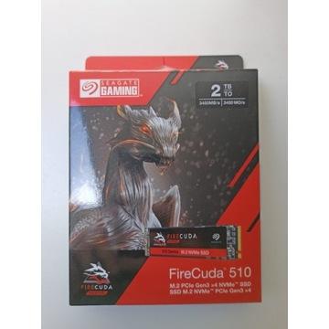 Dysk SSD Seagate FireCuda 510 2TB M.2 NVMe chia