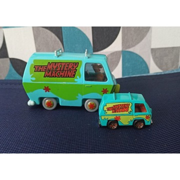 Hot wheels The Mystery Machine bus Scooby Doo auta
