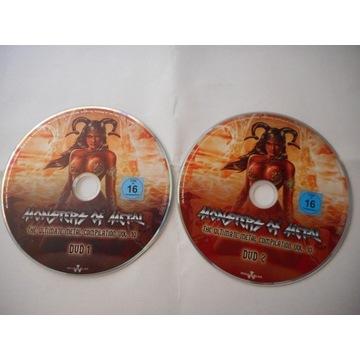 MONSTERS OF METAL 10 --2x DVD [81 UTWORÓW]-Wys.0zł