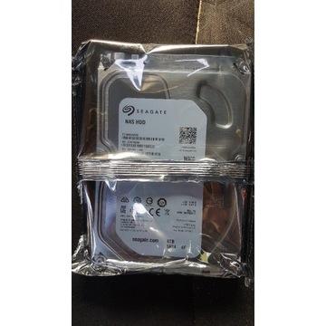 Fabrycznie zapakowany Seagate HDD 4TB NAS IronWolf