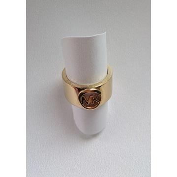 Michael kors pierścionek/obrączka stal kolor złoty