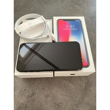 iPhone X 64GB Space Gray Stan idealny