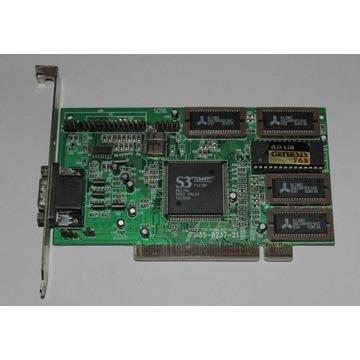 Karta graficzna S3 Trio64V PCI 2Mb sprawna