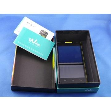 Wiko Rainbow 4G żółty, telefon smartfon