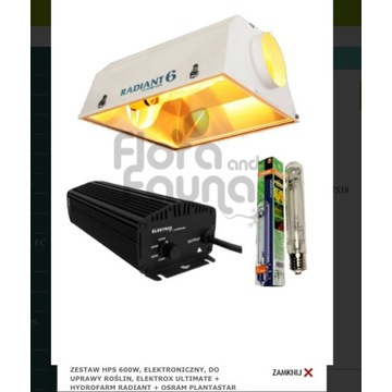 Lampa HPS 600w