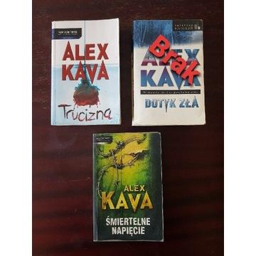 """Alex Kava """"Śmiertelne napięcie"""", """"Trucizna"""""""