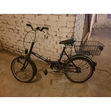 Rower stary składak mały