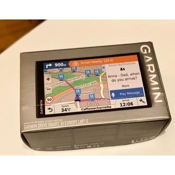 GARMIN DRIVE SMART 61 EUROPE LMT-S + MAPY