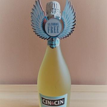 Bezlkoholowy szampan, wino musujące Cin &Cin