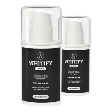 2x WHITIFY CARBON - Wybiel Zęby - DOSTAWA GRATIS !