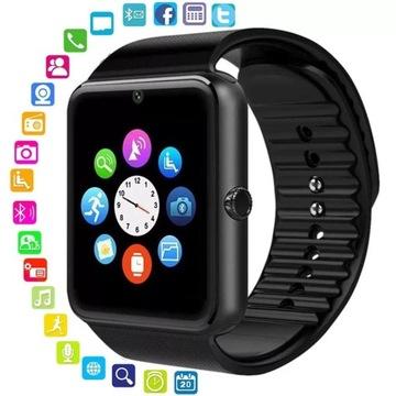 Smartwatch z telefonem, aparat, kamera, mp4 od 1zł