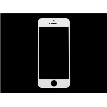 Szybka szyba biała iPhone 5 5S 5C 5SE