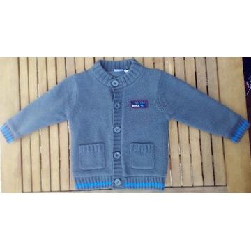 Sweterek dla chłopca wiek 12-24 m-ce, rozm. 86 -92