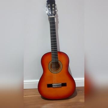 Gitara jak nowa 3/4 dzieci 6-12