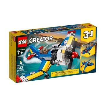 LEGO Creator Samolot wyścigowy 31094(dowóz gratis)