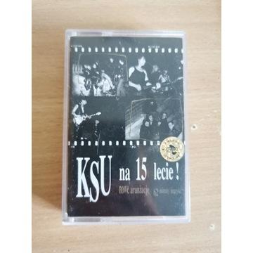 KSU -Na 15-lecie! kaseta