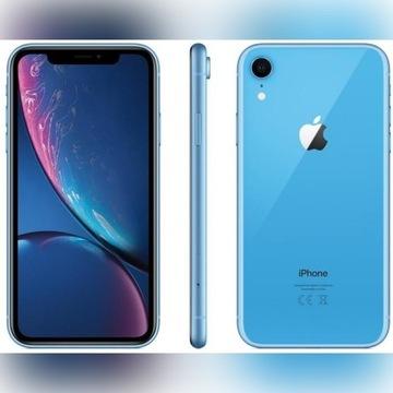Piękny iphone XR blue fv 23%