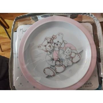 Francuski zestaw naczyn dla dziecka .