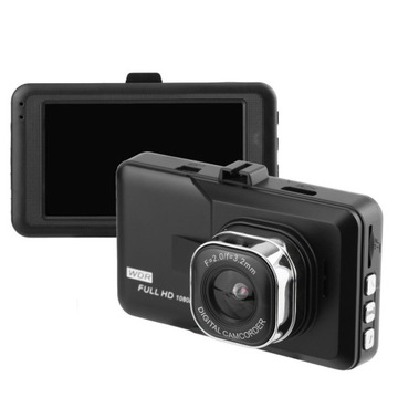 Wideorejestrator samochodowy 3 Cal 1080P+gratisy
