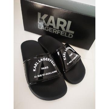 Karl Lagerfeld nowe klapki rozm. 35