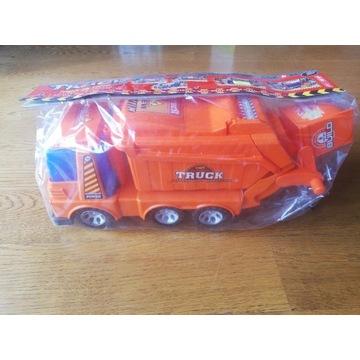 Ciężarówka śmieciarka