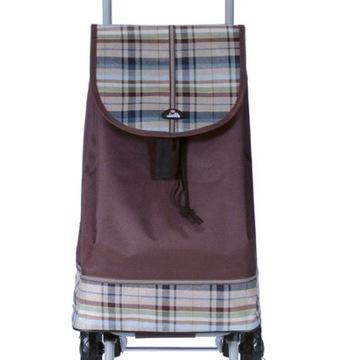 Dielle CARR1 brązowy wózek na zakupy + PREZENT !!!