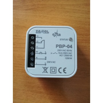 Przekaźnik bistabilny ZAMEL PBP-04