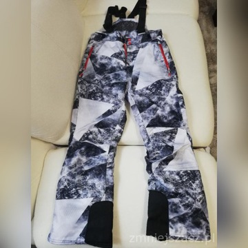 Spodnie narciarskie 4F jak nowe - rozm. 158 OKAZJA