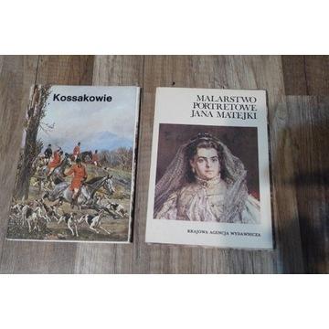 Pocztówki w obwolucie Kossakowie+ Matejko portrety
