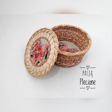 Kuferek koszyk z przykrywka prezent dekoracja